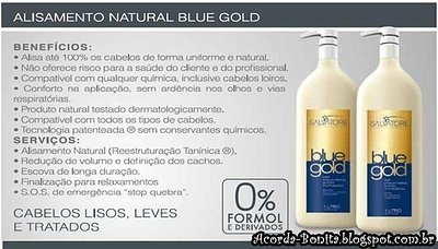 Salvatore Blue Gold Hair Straightening | Brazilian Keratin Treatment 2L by Blue Gold (Image #3)