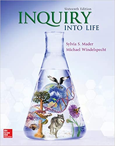 Inquiry into Life 16th Edition [Sylvia Mader]
