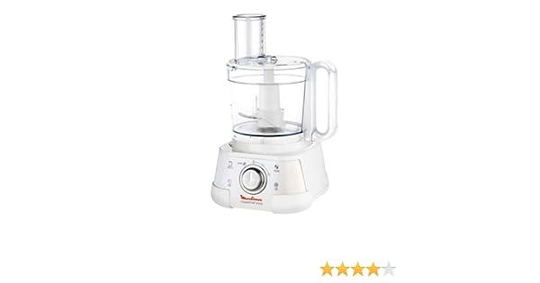Moulinex Masterchef 5000 750W 3L Plata, Color blanco - Robot de cocina (3 L, Plata, Blanco, Giratorio, 1,25 L, De plástico, De plástico): Amazon.es: Hogar