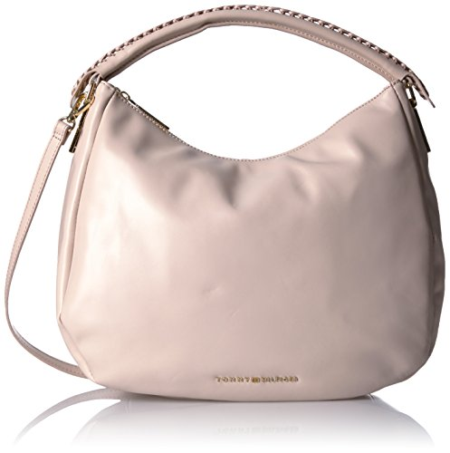 Tommy Hilfiger Purse for Women Effortless Convertible Hobo, (Blush Hobo)