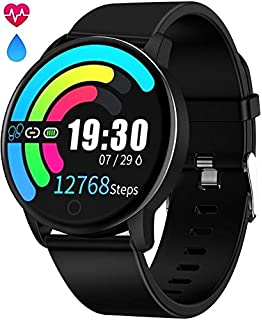 Amazon.com: Smart Watch for Android and iOS Phone 2019 ...