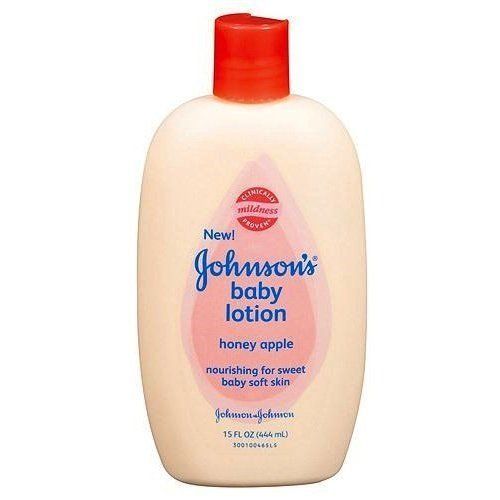 Johnsons Baby Lotion Honey Apple 15 Oz, Pack of 3 by Johnson