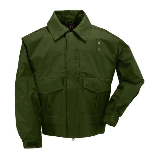 5.11 Tactical #48027 4-in-1 Patrol Jacket (Sheriff Green, Medium)