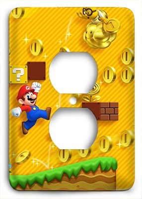 Super Mario Brothers Jump Man Outlet Cover