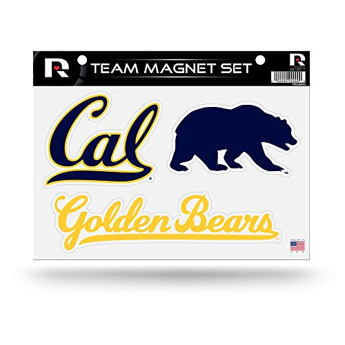 - Rico Industries NCAA California Golden Bears Die Cut Team Magnet Set Sheet