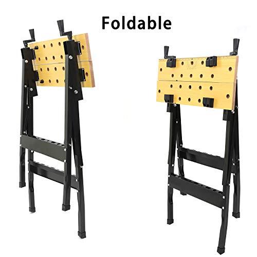 Workbenches Portable Bench Multipurpose Folding Repair