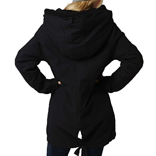 Fox Racing Girls Stormy Coat Jacket, Black, X-Small by Fox Racing
