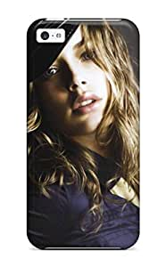 Wendy Uhle's Shop 2262887K56184256 Top Quality Case Cover For Iphone 5c Case With Nice Doutzen Kroes With Police Hat Appearance