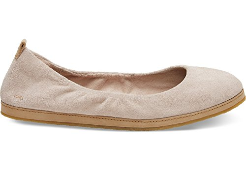 - TOMS Women's Olivia Suede Flat, Size: 9 B(M) US, Color: Blush Suede