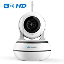 Wireless Security Camera Baby Monitor eLinkSmart 960P HD WiFi IP Camera with Night Vision, Motion Detection, Two Way Audio, Pan/Tilt, Plug & Play