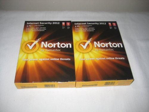 Video Games : Norton Internect Security 2012 (2 Pack)