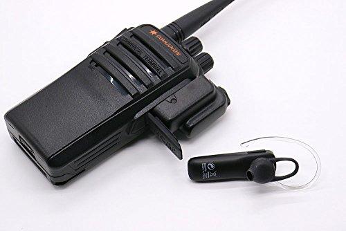 Adaptador inalámbrico Bluetooth + auricular PTT para KENWOOD BAOFENG TYT UV5R UV100 Radio: Amazon.es: Electrónica