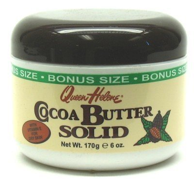 Queen Helene Cocoa Butter Solid 6 oz. Bonus Jar  with Free N