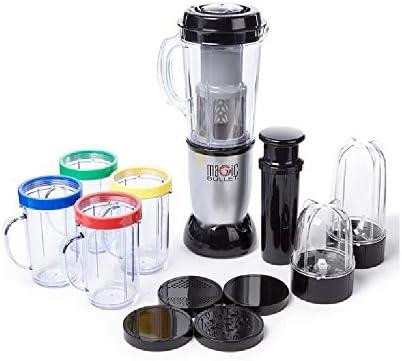 Magic Bullet - Batidora licuadora eléctrica de 21 piezas para frutas y verduras: Amazon.es: Hogar