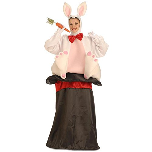 Adult Magic Hat Rabbit Halloween Costume -