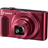 Canon PowerShot SX620 HS Digital Camera (Red) with 64GB High Speed Memory Card + Hand Grip Tripod + Camera Case + Accessory Bundle (11 Items)