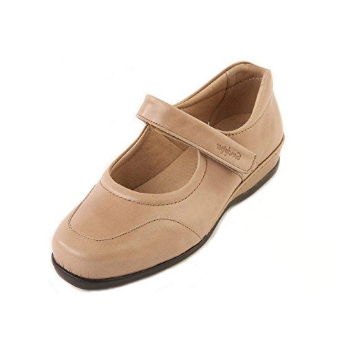 Sandpiper Pour Ville Chaussures Lacets Femme À Beige De q1wzqC