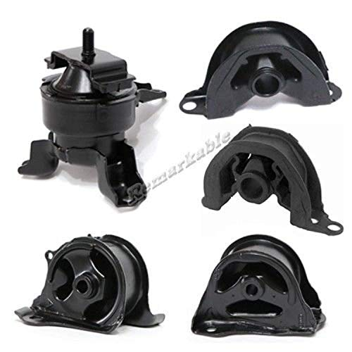 Remarkable Power G033 Fit For 96-00 Honda Civic 1.6L AT/MT Transmission Engine Motor Mount Kit - Honda Mount Civic Engine