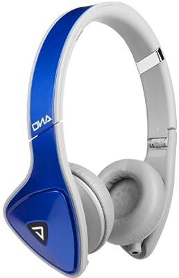 Monster 128901 DNA On-Ear Headphones with Apple ControlTalk (Cobalt Blue/Light Gray)