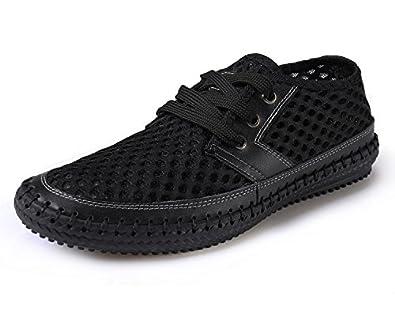 Amazon.com | Norocos Men's Water Shoes Mesh Casual Walking Shoes ...