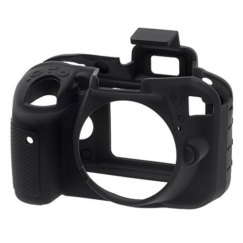 EasyCover ECND3300B Silicone Camera Case for Nikon D3300/3400 (Camera Silicon Case)