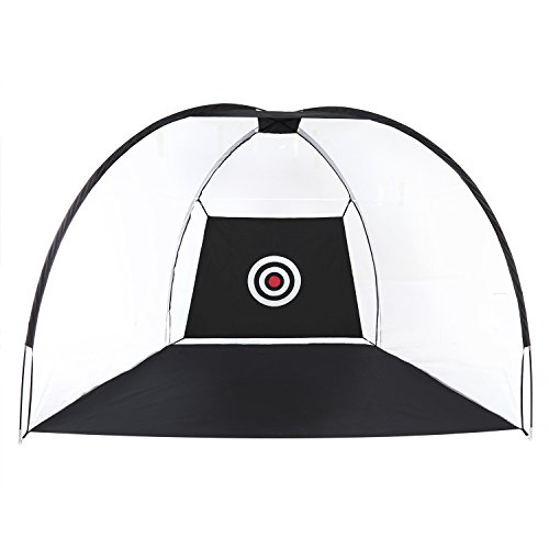 g Hitting Net Portable Pop Up Golf Practice Net with Target for Backyard Outdoor Indoor Training (Pop Up Golf Practice Net)