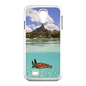 Sea Turtle SamSung Galaxy S4 I9500 Cover Case, Sea Turtle DIY Cell Phone Case, SamSung Galaxy S4 I9500 Custom Case