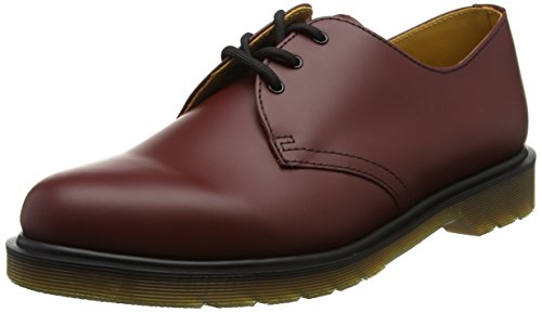 Dr. Martens 1461, Scarpe Stringate Basse Brogue Unisex – Adulto Rosso (Cherry Red)