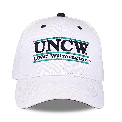 NCAA North Carolina Wilmington Seahawks Unisex NCAA The Game bar Design Hat, White, Adjustable