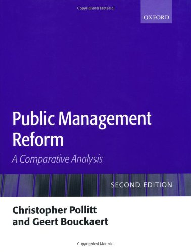 Public Management Reform: A Comparative Analysis