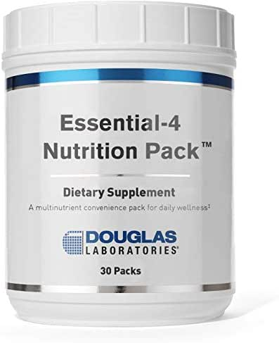 Douglas Laboratories - Essential 4 Nutrition Pack - 4 Foundational Products in One Daily Convenience Pack for Daily Wellness* - 30 Packets