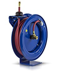 "COXREELS P Series ""Performance"" spring driven hose reels have a long history of dependability and trouble free performance. Their compact space-saving size and heavy duty construction make them highly versatile and virtually indestructible. T..."