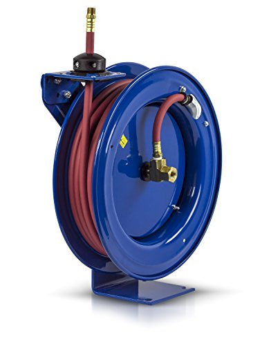 Coxreels P-LP-350 Low Pressure Retractable Air/Water Hose Reel: 3/8