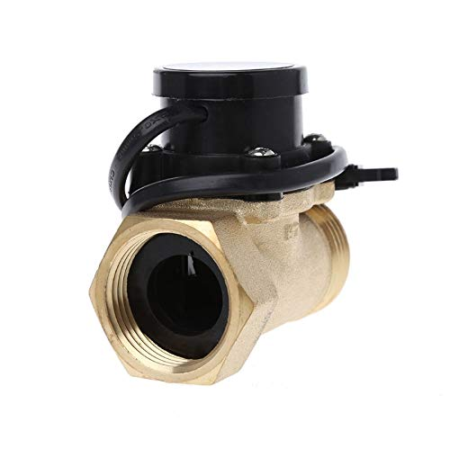 Ants-Store - HT-800 1 Inch Flow Sensor Water Pump Flow Switch Easy To Connect ()