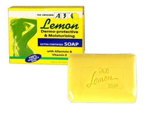 Lemon A3 Soap Dermo-Protective & Moisturizing 100g by Serum