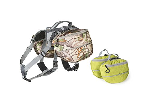 Dog Backpack for Hiking - Large and Small - Camo Dog Backpack