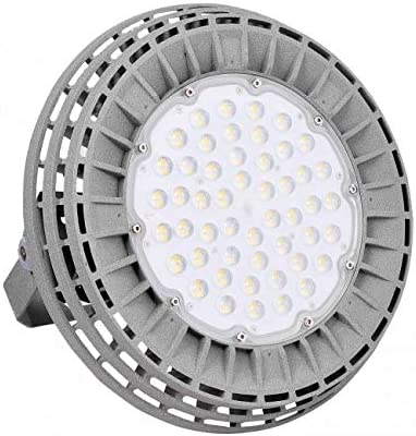 Campana Industrial LED UFO Meanwell 200W gris 4000k: Amazon.es ...