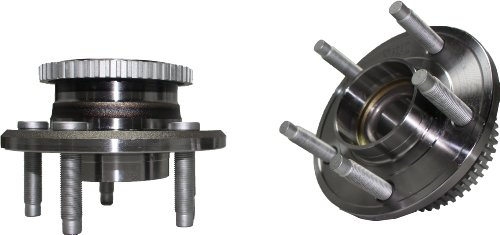 Brand New (Both) Front Wheel Hub and Bearing Assembly Avanti, Mustang 5 Lug W/ABS (Pair) 513221 x2