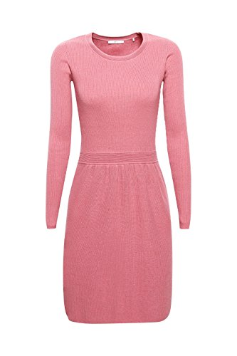 Pink edc Damen Kleid ESPRIT Rosa 675 Dark Old by TwZ04xq1