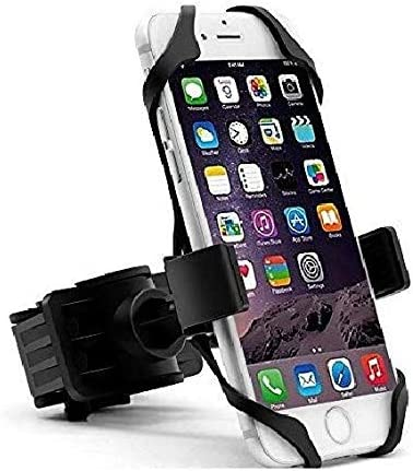 Hakea Bike Mount / Motorcycle Handle-bar Mobile Phone Holder - 360° Rotatable & Adjustable Head - Secure Grip for iPhone...