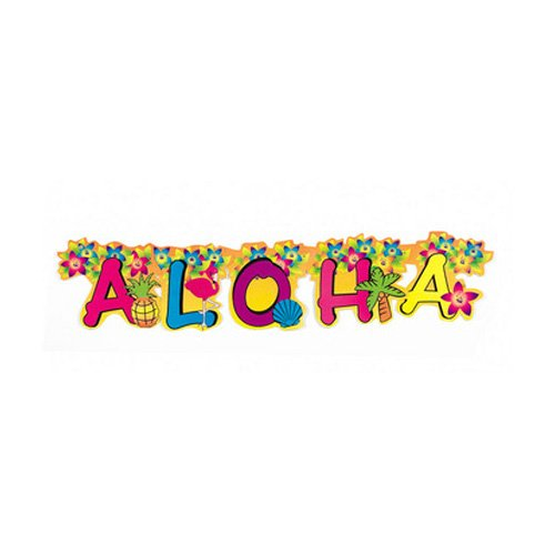 Fun Express Inc. 1 X Aloha Jointed - Banner Aloha