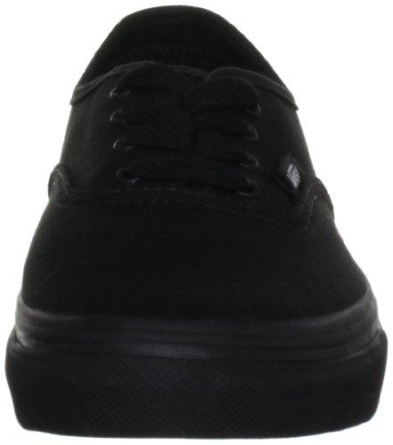 Vans Authentic, Zapatillas De Lona Infantil, Negro (Black/Black BKA), 35 EU