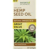 Nature's Science Hemp Oil, 84 Count Box