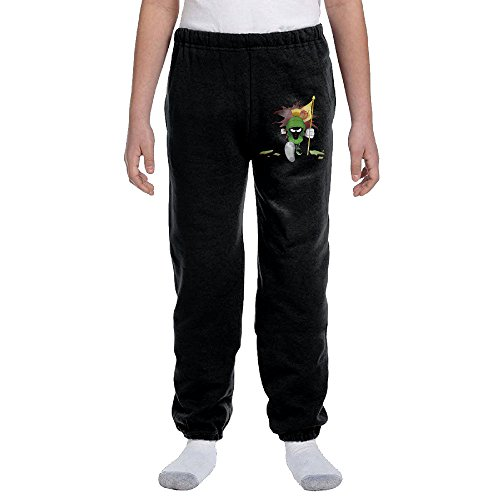 Youth's Marvin The Martian Nope Crashes Over The Wall 100% Cotton Pant X-Large