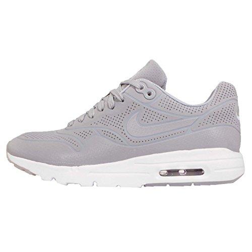 Nike Women's Air Max 1 Ultra Moire Wolf Grey/Wolf Grey/White Running Shoe 6.5 Women US
