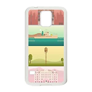 Dustin a Wes Anderson Collection Cases for Samsung Galaxy S5, with White