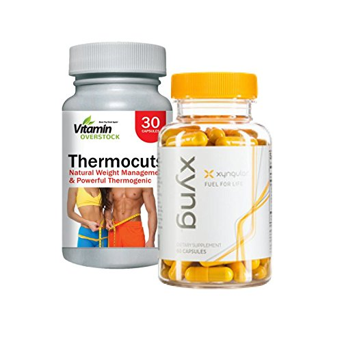 XYNG & THERMOCUTS: Natural Weight Management, Powerful Thermogenic, Energy, Mood - Max Strength - Xyngular & Vitamin Overstock (30 Day Supply)