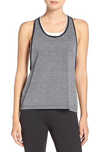 Nike Tanktop Pro Inside Loose Wolf Grey (033) / White/Black