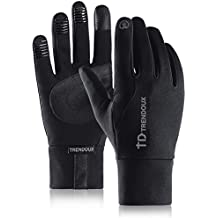 TRENDOUX Touch Screen Winter Gloves for Men and Women, Elastic Cuff, Thermal Soft Lining