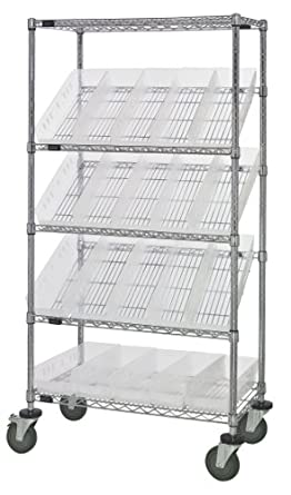 Quantum Storage Systems WRCSL5-63-1836-104CL 5-Tier Slanted Wire ...